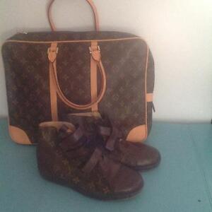 LV purse & shoes