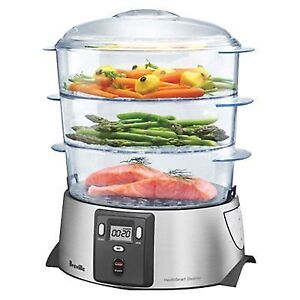 Breville Health Smart Digital Food Steamer BFS600XL, NEW!