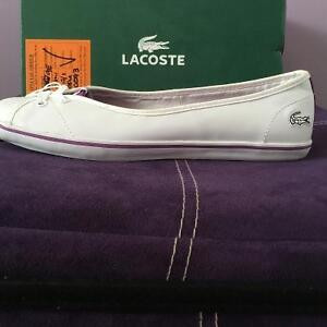 Brand New Women's Size 8 LACOSTE Shoes