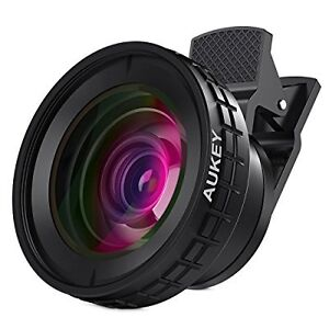 AUKEY Ora Wide Angle, Macro Clip-on Cellphone Lens
