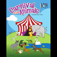 NEW TO VICTORIA!  KIDDYKEYS CARNIVAL OF THE ANIMALS SUMMER CAMP