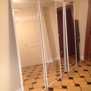 Portes miroirs