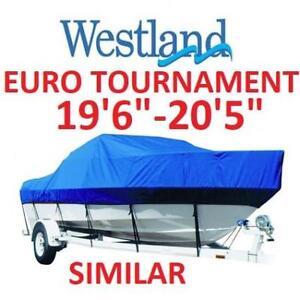 """NEW* WESTLAND SKI BOAT COVER - 133826796 - EURO TOURNAMENT 19'6""""-20'5"""" MAX BEAM 96"""""""