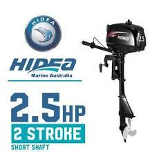 Outboard Boat Motor 2.5 hp 2 Stroke Standard Shaft HIDEA Marine Altona North Hobsons Bay Area Preview