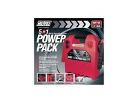 Maypole MP 738 Power Pack 12V 20AH 120PSI Compressor with USB and Light