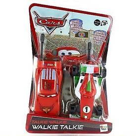 Lightning McQueen and Francesco walkie talkie