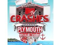 2 MTV crashes Plymouth day one 27th