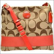 Coach Orange Handbag