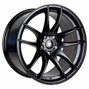 work cr kai style  18x9.5 5x114.3 +35 offset in matt black new in box