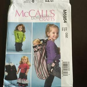 "Mccalls sewing patterns for American Girl and 18"" dolls Peterborough Peterborough Area image 1"