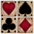 Playing Card Fabric