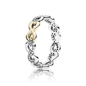 PANDORA INFINITY RING FROM $100 to $65