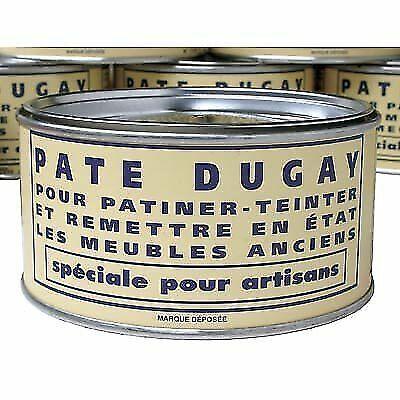 Pate Dugay Furniture Wax (Made in France)-Rustique Moyen (MEDIUM OAK)