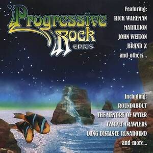 Progressive Rock Epics cd-Reinterpreted by Wakeman,Nektar etc