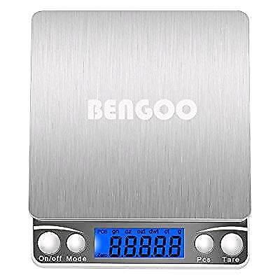 3000g Pocket Digital Scale Stainless Steel Kitchen Food