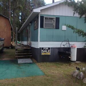 Camp for sale on Northern Lights Lake Resort