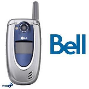 LG 6200 CDMA Phone for Bell, Mint Shape