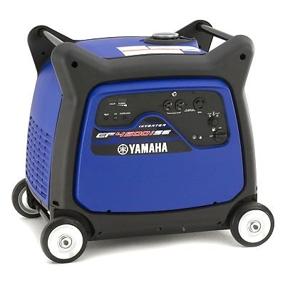 YAMAHA EF4500ISE INVERTER GENERATOR LIKE NEW