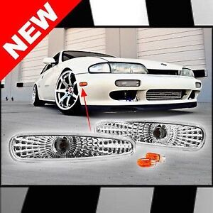 S14 240 sx 240sx clear bumper marker corner light lumier