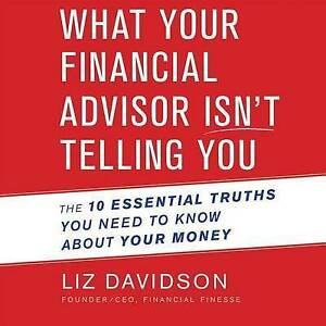 What Your Financial Advisor Isn't Telling You: The 10 Essential T 97816 CD-AUDIO