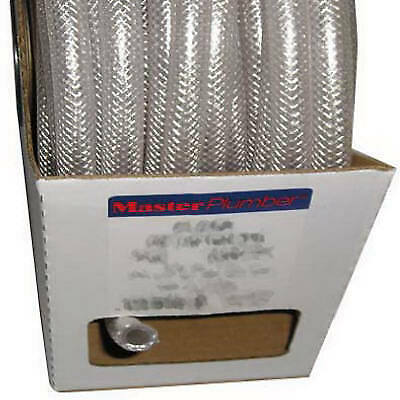 38-inch I.d. X 0.594-inch O.d. X 100-ft. Clear Braided Reinforced Pvc Hose