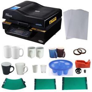 3D Vacuum Sublimation Mug KIT 000953
