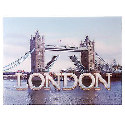 3D Bild Tower Brücke London 29 x 39,5 cm