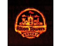 Alton Towers Tickets - Most dates available - Only £20 each - ALL Holidays and weekends available