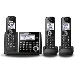 Panasonic Cordless Phones 3-Handset