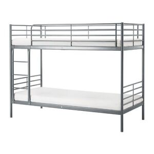 IKEA bunk bed frame & mattresses Hoppers Crossing Wyndham Area Preview