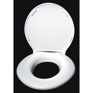 Big John Oversized Raised Toilet Seat, $70 Closed Front with Lid