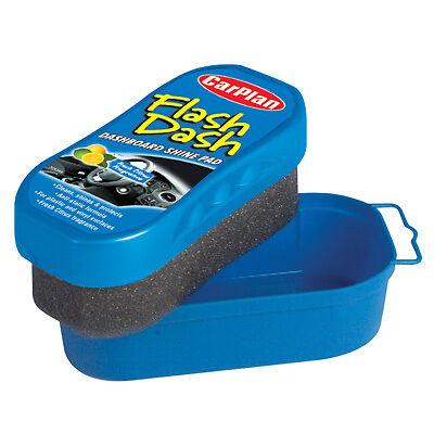 Carplan Flash Dash Dashboard Clean Shine Protect Pad Sponge Plastic Vinyl CITRUS