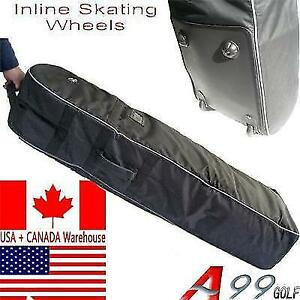 T07 Golf Travel Cover with Wheels Carry-on Bag Black