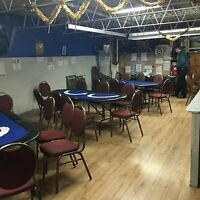 POKER PLAYERS CLUB /LOUNGE ON MACK AVE. NIGHTLY  NO RAKE GAMES