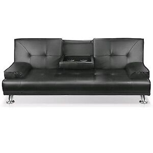 Brand new 2 PU leather 3 seated Couch/ sofa Bed Kings Park Brimbank Area Preview