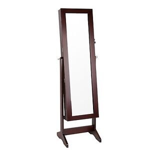 Standing jewellery cabinet with mirror Geelong West Geelong City Preview