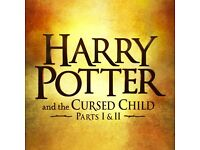 Harry Potter and the cursed child parts 1 & 2.... 2 tickets ...26th April 2017