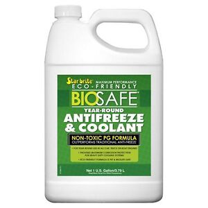 Biosafe antifreeze and coolant BIODEGRADABLEStarbrite -54 degrés