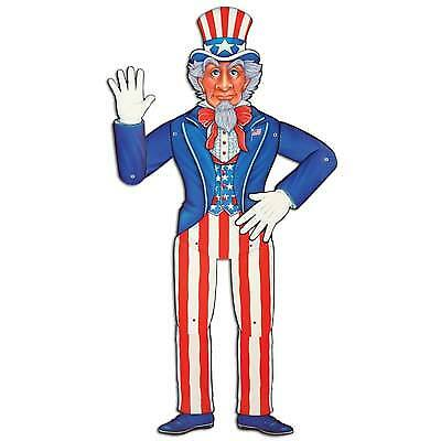 Jointed Uncle Sam Party Accessory (Uncle Sam Party)