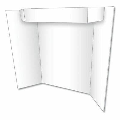 Too Cool Tri-fold Poster Board 24 X 36 Whitewhite 27367b 27367b - 1 Each