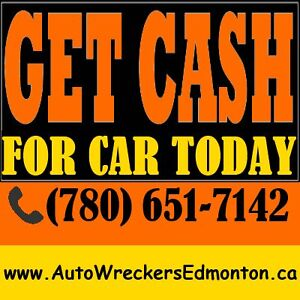 ✔FREE JUNK CAR REMOVAL & TOWING SERVICE (780)651-7142✔