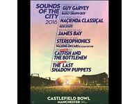 2 x Catfish & the Bottlemen tickets @ Castlefield Bowl
