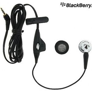 Blackberry HDW-12420-001 Mono Headset with Remote and 2.5mm plug