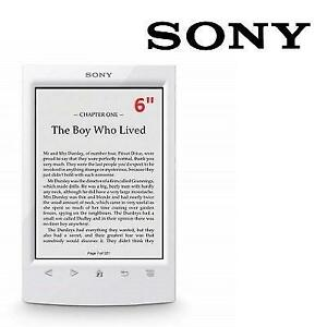 "RFB SONY DIGITAL EBOOK READER 6"" PRS-T2HWC 200028176 2GB E-INK TOUCHSCREEN WIFI EREADER TABLET WHITE REFURBISHED"