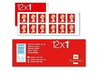 1st Class stamps x 12 (Large Quantity Available)