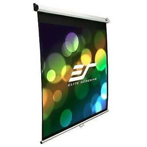 Projector Screen for sale white or black available $50