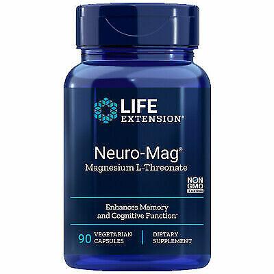 Life Extension Neuro-Mag Magnesium L-Threonate (90 Caps) EXP. date 12/2022