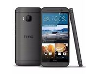 HTC M9 32G ORIGINAL UK VERSION IN GUNMETAL GREY++ UNLOCKED TO ALL NETWORKS++