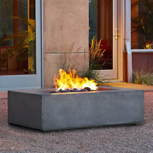 Naturel Gas Fire Table
