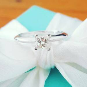 Tiffany & Co. 0.43ct H/VVS1  Princess Cut Engagement Ring Bellevue Hill Eastern Suburbs Preview